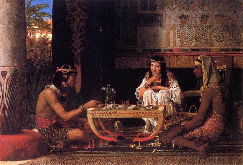 Satrancı andıran en eski oyun Senet Oyunu, Mısır - M.Ö. 2000