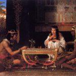 Satranç'ı andıran en eski oyun Senet Oyunu, Mısır - M.Ö. 2000