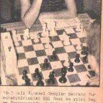20. Altın Portakal 3. Satranç Turnuvası 1983