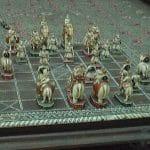 Satranç'ın geldiği oyun Çaturanga, Hindistan M.S. 300
