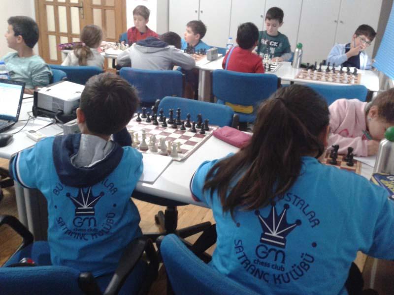 Antalya Büyük Ustalar Satranç Kulübü Bahçelievler Şubesinde Eğitim Zamanı
