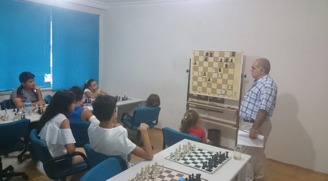 GM Sarhan Guliev misafirimiz oldu.
