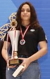 Öğrencimiz Buse Naz Koçyiğit 18 yaş kızlar kategorisinde Türkiye İkincisi oldu!!