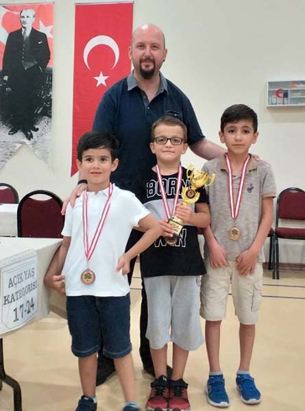 2. Kdm. Antrenör FA Onur Alacaba Büyük Ustalar Satranç Kulübü Antalya