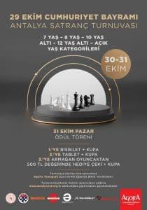 2021 Antalya 29 Ekim Cumhuriyet Bayramı Satranç Turnuvası